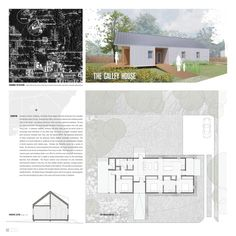 Winners of Habitat for Humanity's Sustainable Home Design Competition - The Galley House (love the floorplan of this one)