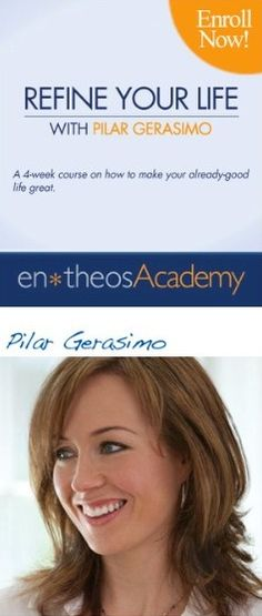 Refine Your Life - In this four-week experiential course, Pilar Gerasimo introduces you to a practical framework for fine-tuning any part of your life. You'll tap into valuable life skills you can use forever.    Whether you want to simplify or rebalance your life, reconnect with your sense of purpose, or totally reorganize your priorities, this is a great way to find the focus and direction you need. — #sungoddess. http://sungoddessmagazine.com
