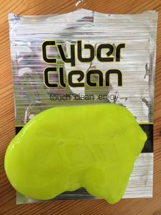 Cyber Clean Cleaning Compound is a fluorescent green and what you can only describe as gloop! Ideal present for your techie man to clean up his computers! Nook And Cranny, Cleaning Products, Nooks, Clean Up, Slime, Cyber, Make It Yourself, Decorating, Green