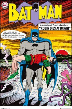 Batman Robin Dies At Dawn - Official Poster. Official Merchandise. Size: 61cm x 91.5cm. FREE SHIPPING