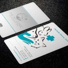 Wanted - Creative, Cool, Fun, Impactful Business Card For Our Veterinary Hospital! by Xclusive16