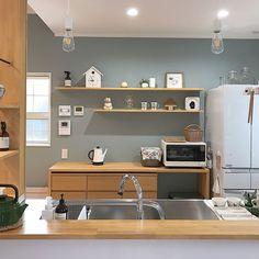 Minimalist Room Design, Minimalist Kitchen, Luxury Kitchens, Home Kitchens, Home Room Design, House Design, Kitchen Interior, Kitchen Decor, Muji Home