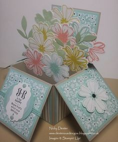 Dexterous Designs: Stampin' Up! Uk - Flower Shop Card in a Box