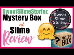 Mystery Slime Box Review of SweetSlimeStoriez UK