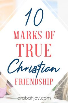 If you're looking to form healthy Christian friendships, learn how these marks of true Christian friendship can help you build strong spiritual friendships. Christian Women, Christian Living, Christian Life, Christian Quotes, Christian Friendship Quotes, Friendship Sayings, Christian Church, Christian Relationships, Godly Relationship