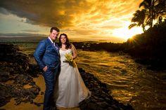 Gisa and Niels at Makena Cove