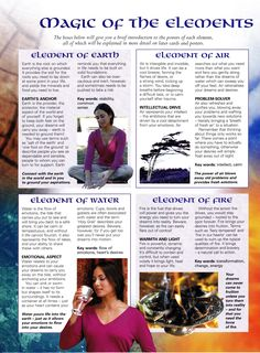 Magic of Elements Mind body spirit collection