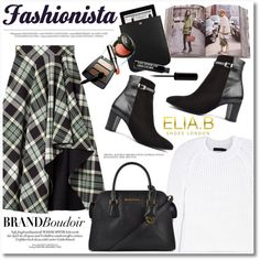 Fashionista by helenevlacho on Polyvore featuring moda, Calvin Klein Collection, Alexander McQueen, Yves Saint Laurent, Penguin Group, Anja, eliabshoes and brandboudoir