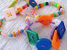 Fun Kid's Party Craft - Jewelry Making. Tips & Ideas