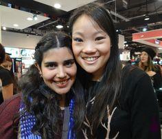 Con Choy, la ganadora del Desafío Nelísimo.