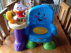 Fisher Price Musical Laugh And Learn Story Chair