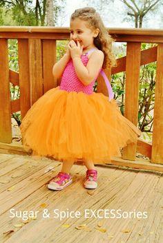 Dora the Explorer inspired tutu dress