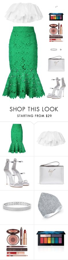"""Sin título #4842"" by mdmsb on Polyvore featuring moda, Bambah, Giuseppe Zanotti, Anne Sisteron, Charlotte Tilbury y Smashbox"