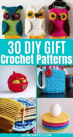 Don't miss this incredible list of gorgeous crochet gift patterns! Fast and easy, this list is ideal for those who are beginners or short on time! #crochet #crocheted #diy #crafts #handmade #gifts One Skein Crochet, Crochet Dishcloths, Free Crochet, Crochet Hats, Diy Baby Gifts, Diy Crafts For Gifts, Easy Diy Crafts, Handmade Gifts, Diy Crochet Projects