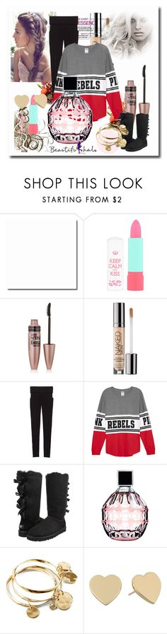 """""""School Outfits"""" by schooloutfits101 on Polyvore featuring Rimmel, Maybelline, Urban Decay, Victoria's Secret, UGG Australia, Jimmy Choo, Vera Bradley, Kate Spade and livelaughlove"""