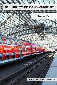 Die Preise für Deutsche Bahn Tickets finden viele von euch überzogen und wissen nicht, wo sie im Tarifdschungel der Deutschen Bahn die günstigen Tickets finden. Alternativen zum Normalpreis gibt es, man muss sie nur finden. Ich habe mich für euch auf die Suche gemacht. In meinem Artikel stelle ich euch die besten Tipps vor und zeige euch, wie ihr an günstige Bahntickets kommt.