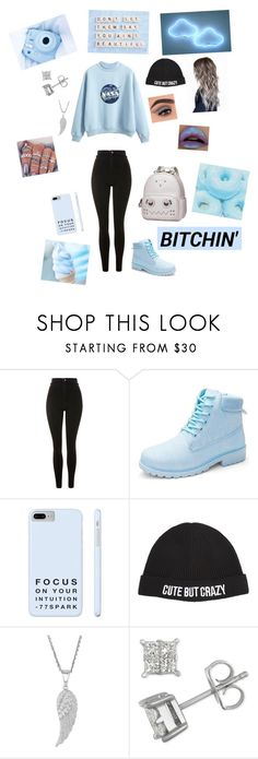 """"""""""" by officialmayraphoenix ❤ liked on Polyvore featuring Topshop and Chiara Ferragni"""