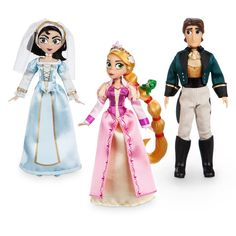 Disney Tangled The Series Rapunzel, Cassandra and Eugene (Flynn) Exclusive Mini Doll Set Disney Barbie Dolls, Disney Princess Dolls, Disney Princesses, Princess Rapunzel, Disney Rapunzel, Oswald The Lucky Rabbit, Tangled Series, Mini Doll House, Baby Doll Accessories