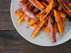 sweet potato sumac fries | via Ashley Neese