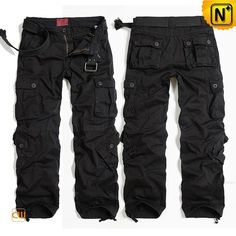 Black Hiking Cargo Pants for Men Casual outdoor sportswear black hiking cargo pants for men crafted from cotton, classic stylish 8 pockets design and our refined yet rugged hiking pants is your best choice! By: Héctor Alberto Tactical Pants, Tactical Clothing, Men's Clothing, Best Hiking Pants, Men Hiking, Moda Converse, Cargo Work Pants, Men's Pants, Survival Clothing