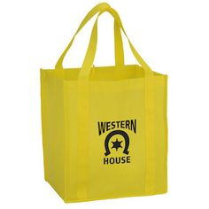 This large shopping tote offers plenty of extra advertising space!
