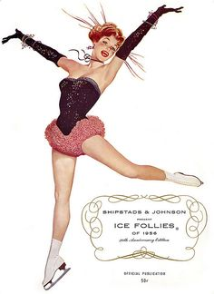 1956 ... Ice Follies by x-ray delta one, via Flickr