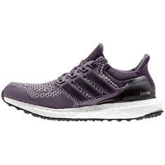 watch 660fe 6e555 Adidas Ultra Boost Women s Running Shoes , Purple ( 200) ❤ liked on  Polyvore featuring