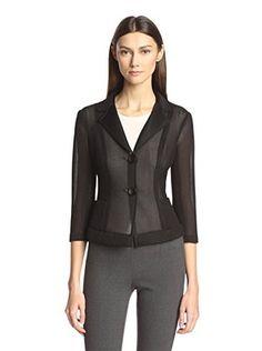 Bigio Women's Honeycomb Jacket (Black)