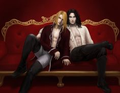 Jean-Claude and Asher by Spiffiness ///