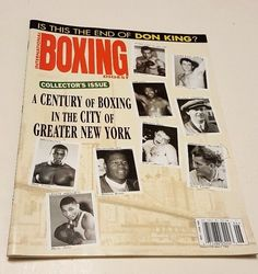 International Boxing Digest May 1998 Magazine CENTURY OF BOXING IN NEW YORK