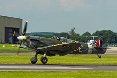 Supermarine Spitfire LFVb #flickr #plane #WW2