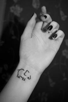 elephant tattoo... Love this one!!!!
