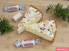Ciasto Śnieżny puch – bez pieczenia – w kilka minut! Sweet Recipes, Feta, Camembert Cheese, Cheesecake, Food And Drink, Treats, Baking, Cakes, Kitchen