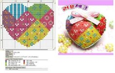 Cross Stitch Boards, Mini Cross Stitch, Cross Stitch Heart, Modern Cross Stitch, Counted Cross Stitch Patterns, Cross Stitch Designs, Cross Heart, Embroidery Hearts, Cross Stitch Embroidery