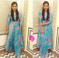 Sapphire # tie casual dress # summer gown # Indian fashion