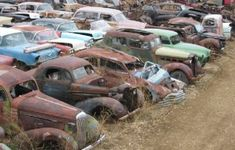 Vintage Cars Collection of 600 neglected classics in Alberta heads to auction - Neglected cars from as early as the will go up for up for sale this August Old Trucks, Chevy Trucks, Pickup Trucks, Vintage Cars, Antique Cars, Junkyard Cars, Wrecking Yards, Automobile, Abandoned Cars
