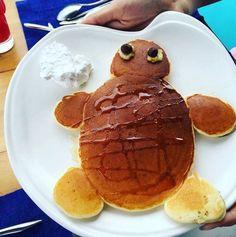 Six Senses Laamu turtle Pancake Art, Maldives, Turtle, Pancakes, Breakfast, Food, The Maldives, Morning Coffee, Turtles
