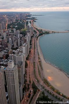 Lake Shore Drive. One of the most beautiful commutes a girl could ask for!