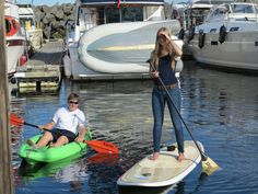 Fun in the water Sup Stand Up Paddle, Sup Yoga, Standup Paddle Board, Paddle Boarding, Beautiful Places, Surfing, Outdoors, Boat, Activities