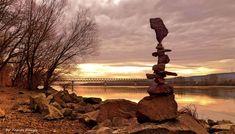 Stone balance art from Hungary by tamas kanya#stonebalance#stoneart#stonebalanceart#rockartist#tamaskanya#hungary#stonebalanced#stonebalancing#landart