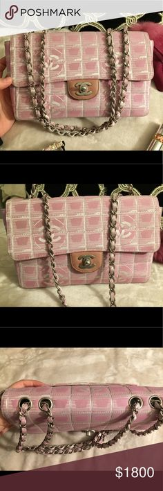 🌸Pink CHANEL jacquard double flap bag🌸 Stunning Pink Chanel jacquard chain flap bag in EXCELLENT CONDITION! This bag is like new⭐️ immaculate💕 very well kept and clean on interior and exterior! Can be used as a shoulder bag or crossbody! Perf cr for the summer ! Looks good with a flowy summer dress, shorts and jeans 😍 goes well with earthy and creme tones 🌟only selling🌟 CHANEL Bags Shoulder Bags