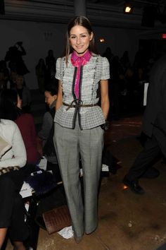 Olivia Palermo is the epitome of chic Upper East Side dressing. Here's a roundup of Vogue's favourite Olivia moments, take inspiration and eagerly await our upc
