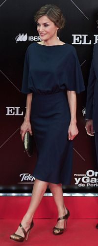 5 May 2016 - Queen Letizia attends 40th anniversary of El Pais newspaper. Click to read more