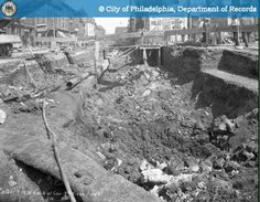 Demolition of Ventilator - Northeast - 8th and Race Streets - http://ehood.us/4eV Demolition of Ventilator – Northeast – 8th and Race Streets.  The City of Philadelphia's photo archive contains approximately 2 million photographic records that date from the late 1800's. This web site has a subset of those photos. All archive photos may be searched by keyword and date. Archive photos which have been assigned a geographic location are also searcha