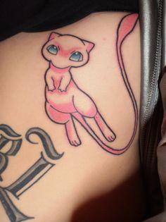 mew pokemon tattoo <3