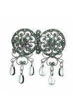 Halssølje Chandelier, Ceiling Lights, Earrings, Jewelry, Decor, Vest, Products, Ear Rings, Candelabra