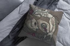 Hand painting, canvas pillow, Handmade, modern art, stylish, decorative pillow, cover, Hand Drawn, One piece, Original art work, Artistic Silk Painting, Painting Canvas, Linen Store, Screen Printing, Modern Art, Decorative Pillows, Original Artwork, How To Draw Hands, Pillow Covers