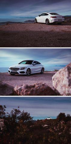 Blending into a beautiful scenery: The Mercedes-Benz C-Class Coupé. Photos by Sven Klittich (svenzo.com) for #MBsocialcar