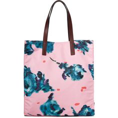 Marc Jacobs B.Y.O.T. Brocade Floral Tote ($195) ❤ liked on Polyvore featuring bags, handbags and tote bags