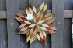 Barn Quilts, Rustic Barn, Wood Art, Wood Crafts, Fall Winter, Woodworking, Crafty, Stars, Wall